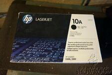 New Open Box Genuine OEM HP 10A Q2610A Black Toner Cartridge LaserJet 2300 3D04X