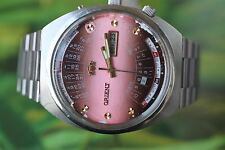 GREAT VERY BIG MEN'S JAPANESE ORIENT WATCH 21 JEWELS MULTI CALENDAR ORIGINAL!