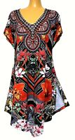 TS top TAKING SHAPE plus sz M / 18 - 20 Madagascar Tunic bling glam NWT rrp$130!