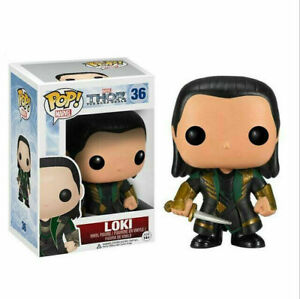 FUNKO POP Thor  Loki  Vinyl Action Figures Collection Model Toys