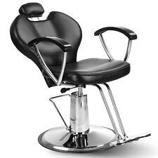 Reclining Hydraulic Barber Chair Hair Styling Salon Beauty Spa Shampoo Equipment