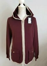 New Ladies Marina Yachting Maglia Cardigan Hooded Size XL