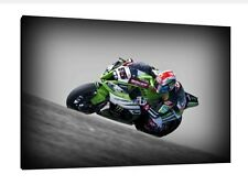 Jonathan Rea 30x20 Inch Canvas - Kawasaki ZX10-R WSBK Framed Picture Johnny Rea