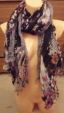 Women fashion LONG scarf viscose