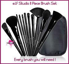 E.L.F ELF Studio 11 piezas juego de brochas Colección Polvo Colorete Mezcla Sombra De Ojos