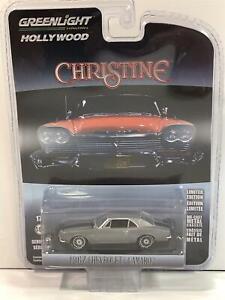 Christine 1967 Chevrolet Camaro 1:64 Escala Greenlight 44870C