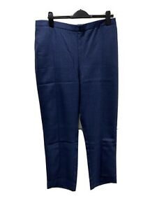 Brand New With Tags Julipa Navy Elastic Waist Trousers UK Size 18