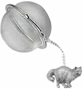 ppc05 Birman Cat 2 inch Tea Ball Mesh Infuser Stainless Strainer