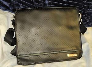 OEM Bag Carrying Case for - Bose Sound Dock Messenger - Vegan Leather w/ Straps