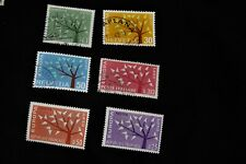Lot timbres Europa 1962