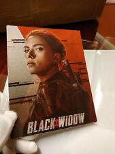 BLACK WIDOW - Multi Image Lenticular 3D Flip Magnet Cover FOR steelbook