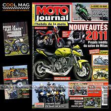 MOTO JOURNAL N°1902 APRILIA 750 SHIVER GT APRILIA TUAREG 24 HEURES DU MANS 2010