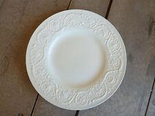 Wedgwood Patrician Plain White 1 Dinner Plate   Vintage