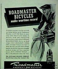 1944 WWII Roadmaster Bicycle,Bike Print Trade Art AD