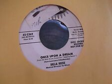 45A *PROMO* DELLA REESE ONCE UPON A DREAM / TIME WAS ON JUBILEE RECORDS