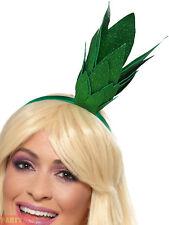 Smiffy's 48878 Smiffys Pineapple Stalk Glitter Headband Green One Size - Fancy