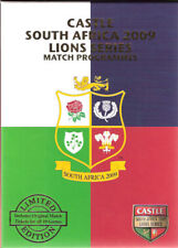 BRITISH & IRISH LIONS TOUR OF SOUTH AFRICA 2009 PROGRAMMES & TICKETS BOXED SET