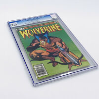Wolverine Limited Series #4 CGC 9.0. Final Issue! High Grade!