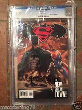 SUPERMAN BATMAN #8 1st Appearance of Supergirl Comic Book CGC 9.8 Kara Zor-El
