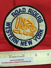 WESTERN NEW YORK ROAD RIDERS PATCH NY ~ BICYCLE BIKE BIKER 5OA2 ex