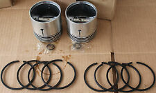 """**Indian Chief Piston & Rings Set +.060"""" Fits All 74"""" Chiefs 3-1/4"""" Vintage #418"""
