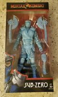 McFARLANE TOYS MORTAL KOMBAT SUB-ZERO GAMESTOP EXCLUSIVE ICE CLONE. NEW SEALED