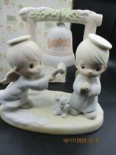 "Precious Moments ""Ring Those Christmas Bells "" - Porcelain Figurine"