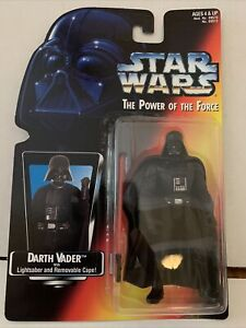 Star Wars Power of The Force Darth Vader Action Figure 1995