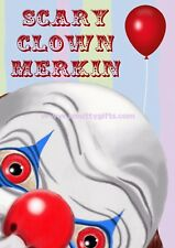 Scary Clown Merkin ~ Novelty Joke Prank Pubic Wig - Secret Santa - Coulrophobia