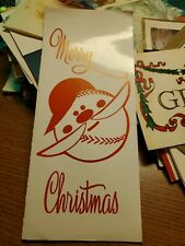 1960S CHRISTMAS CARD FROM YANKEES MANAGER JOHNNY KEANE TO JIM BOUTON