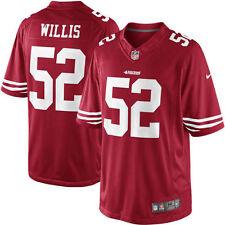 San Francisco 49ers Patrick Willis Scarlet Red Limited Jersey Large NFL
