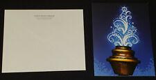 JEAN BELIVEAU MONTREAL CANADIENS HOCKEY CLUB AUTOGRAPH CHRISTMAS CARD + ENVELOPE