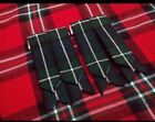 Men  s Kilt Flashes Modern Douglas Tartan/Kilt Hose Flashes Douglas modern tartan