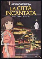 Manifesto The City' Enchanted Spirited Away Miyazaki Hayao Ghibli Japan M261