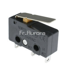 10PCS Tact Switch KW11-3Z 5A 250V Microswitch 3PIN Buckle