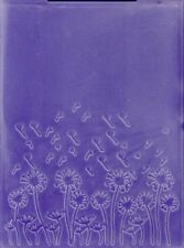 Folders ... to die for Embossing Folder template - Dandelion Flower
