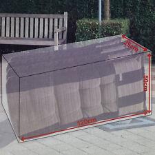 Wetterschutz Abdeckplane Schutzhülle Garten Kissen Aufbewahrung Abdeckung Haube