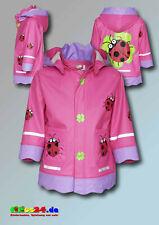Playshoes Regenmantel Glückskäfer Marienkäfer Regenjacke in pink Gr 80 bis 140