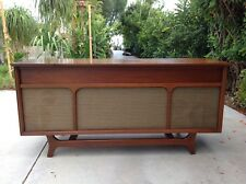 Mid Century Penncrest Stereo Console Credenza