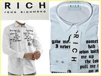 RICHMOND Camici Uomo M L XL 195€ ¡Qui Meno! JR01 N1P