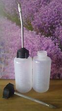 Ölflasche 130 ml Öl Aplikationsflasche mit Kanüle Öl Tropfflasche oil dropper