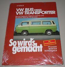 Reparaturanleitung VW Bus T3 T 3 Diesel + Transporter + Syncro So wirds gemacht!