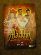 ALADDIN KINGS THEATRE GLASGOW 2018 PANTOMIME PROGRAMME SIGNED