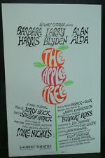"""The Apple Tree Theater Broadway Window Card Poster 14"""" x 22"""""""