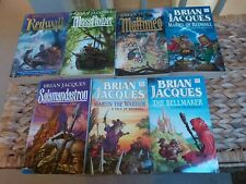 Brian Jacques Redwall Series Books 1-7