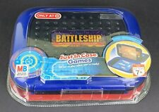 Battleship Game Just in Case Portable Travel IMPERFECT PACKAGING Milton Bradley