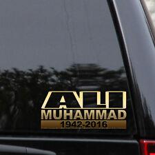"Muhammad Ali Decal Sticker RIP Boxer Car Truck Window Laptop 8.5""x 3.5"""