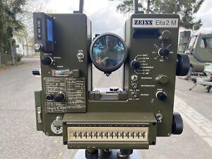 Zeiss Elta 2M Tachymeter / Theodolit / Vermessung / Ex. Bundeswehr