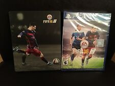 FIFA 16 Limited Collector's Edition Steelbook Case + Video Game PS4 New/Sealed
