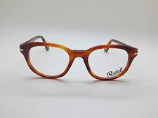 New Authentic PERSOL 3052-V 96 Terra di Siena 50mm RX Eyeglasses